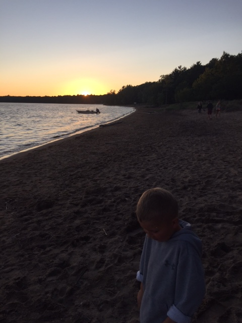 Sunset At Killbear