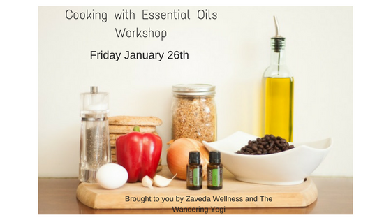 Cooking with Essential Oils Workshop